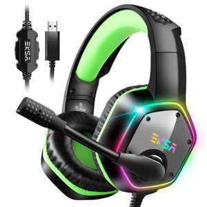 EKSA E1000 Plug-to-Play 7.1 Surround Sound Gaming Headset South Africa