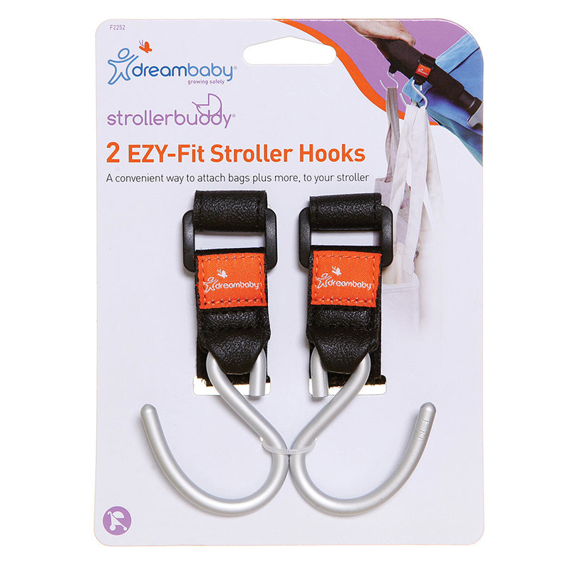 Dreambaby Strollerbuddy® Ezy-Fit Stroller Hooks: F2252 South Africa