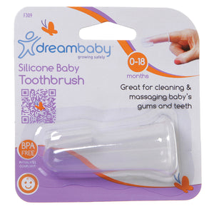 Dreambaby Silicone Finger Toothbrush: F309 South Africa