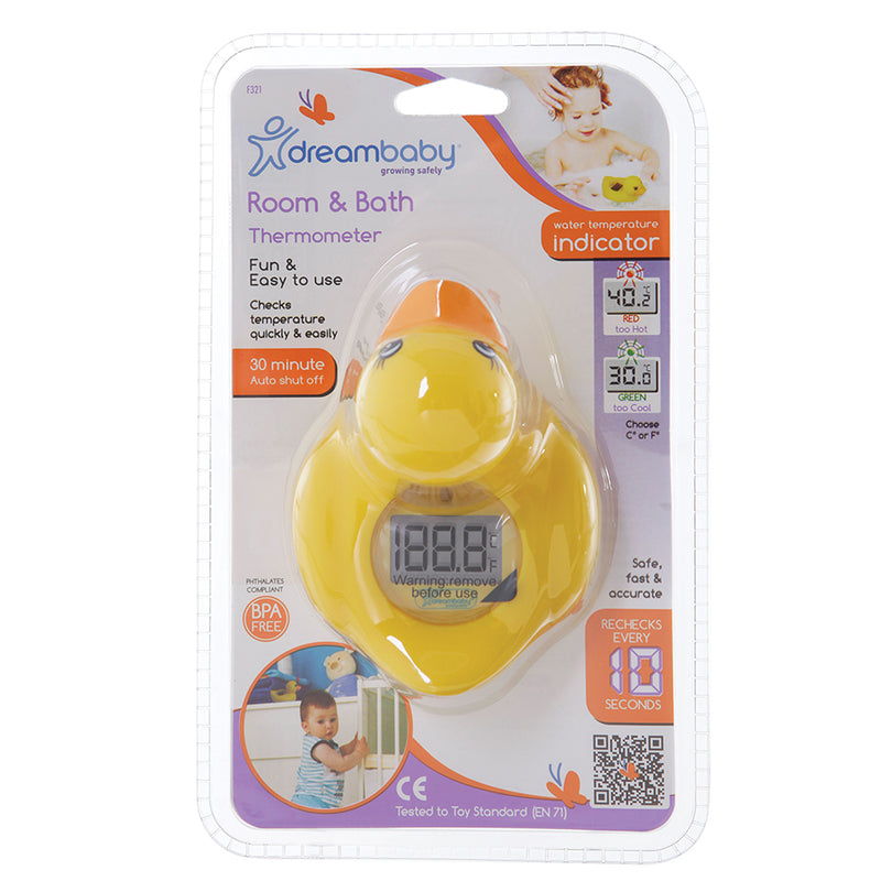 Dreambaby Duck Bath & Room Thermometer South Africa