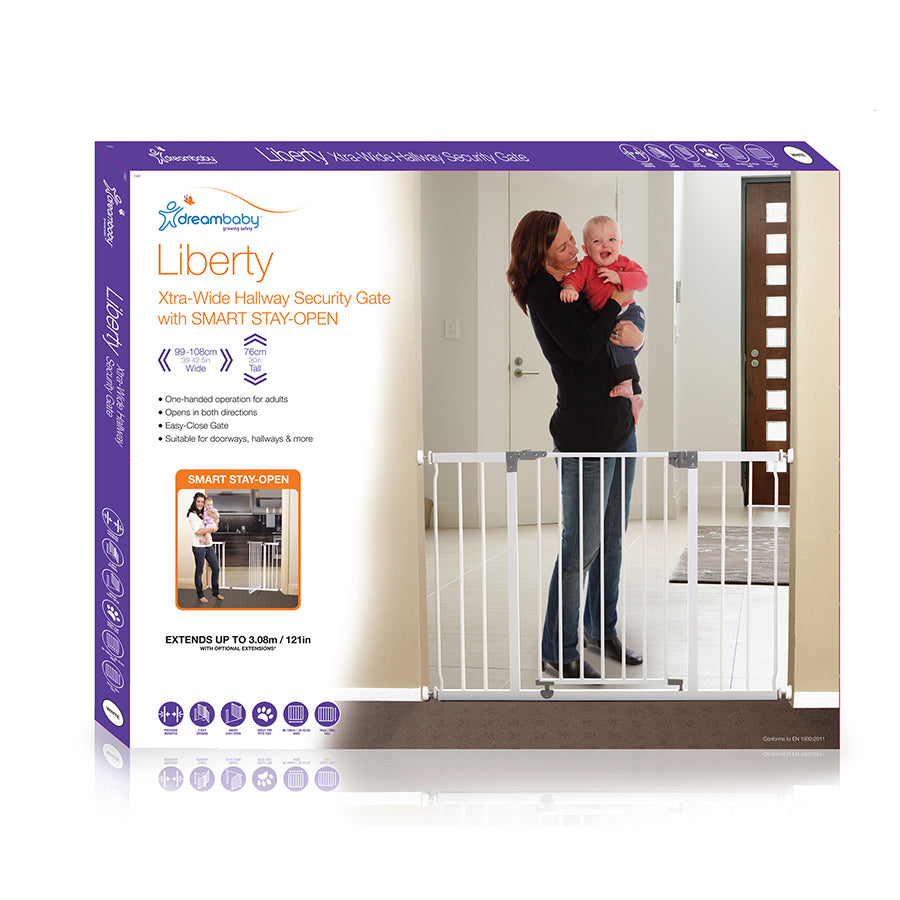 Dreambaby Liberty Xtra Wide Hallway Gate South Africa