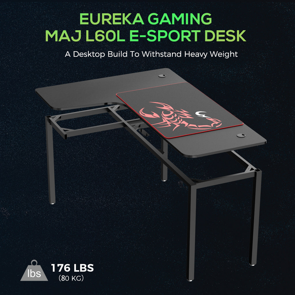 Eureka EUR L01L Gaming Desk South Africa