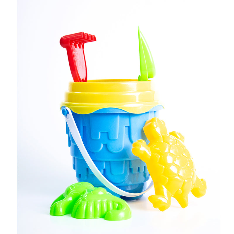 Bucket, Spade and Mold Set (6pcs)