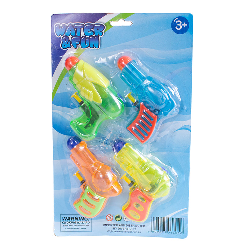 I Love Stuff Water Pistols 4 Pack South Africa