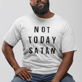 T-shirt Homme Not Today Satan