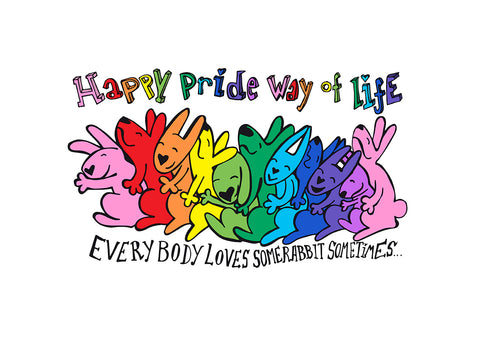 Happy pride way of life.