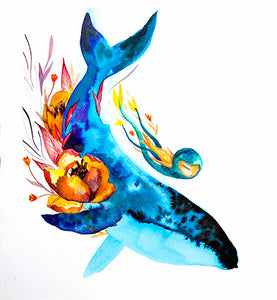 Ballena Flores - Print Limited Edition of 50