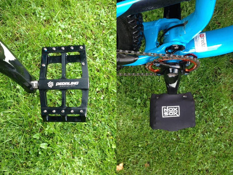 Nox Sox Pedal Cover Pedalling Innovations Catalyst Pedal