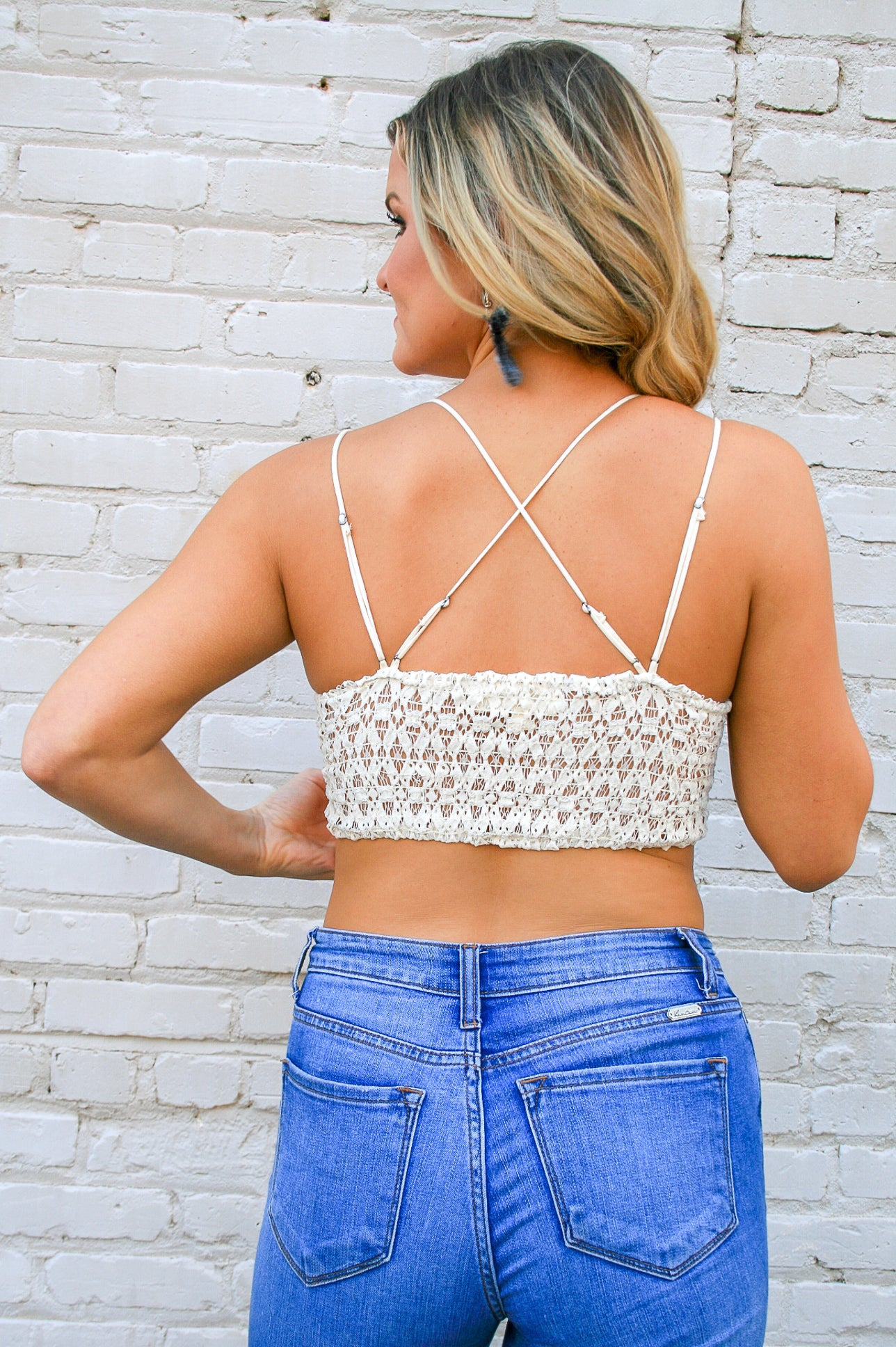 Perfectly Lace Bralette - Ivory