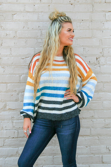 Fall Hues Sweater
