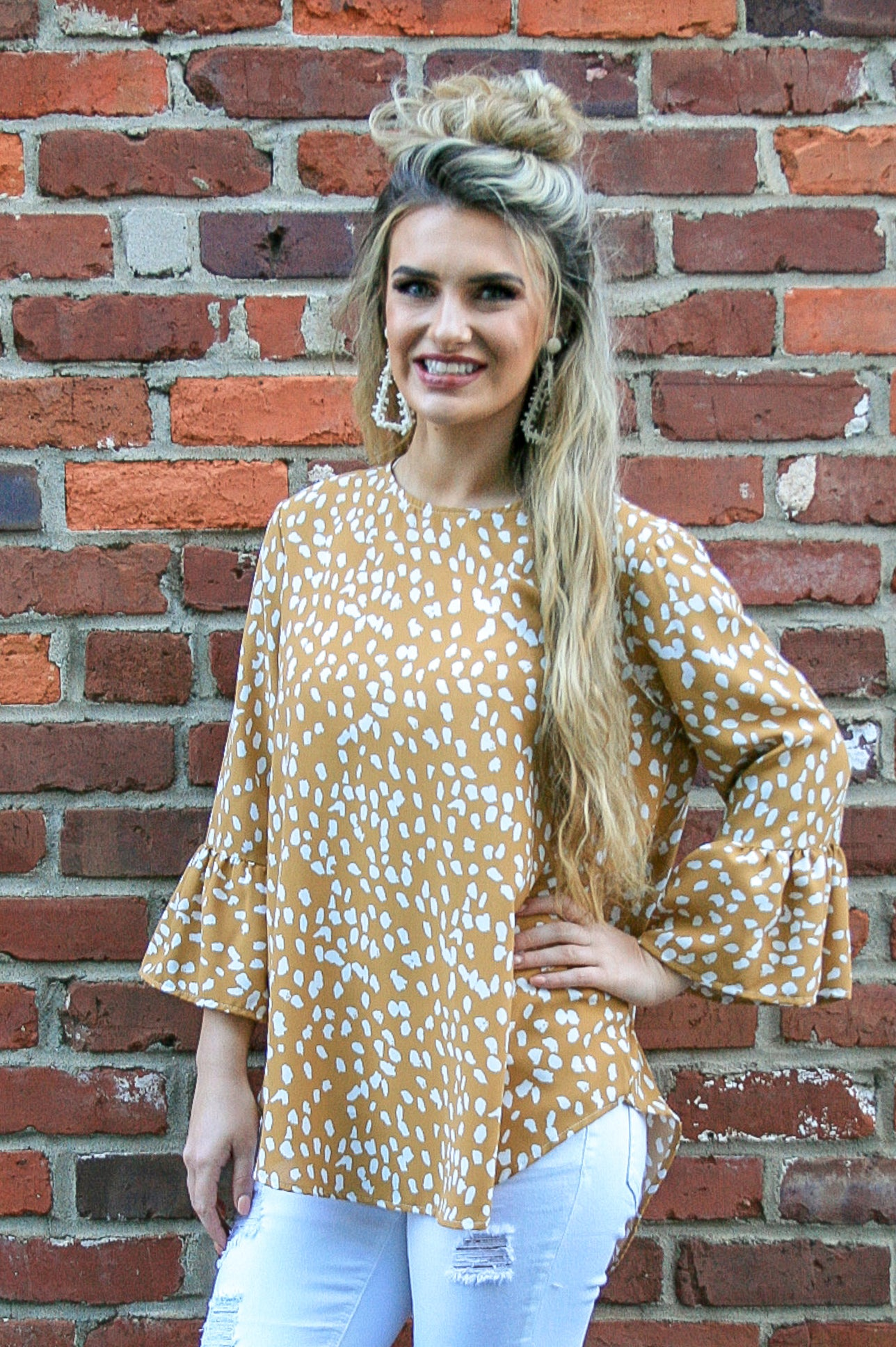 Spotty Dreams Top