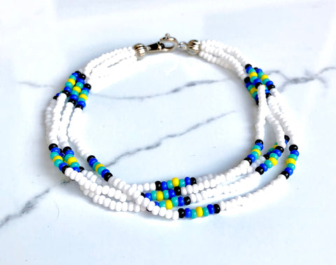 The Quartet Bracelet- Native Pattern