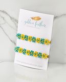The Daisy-Turquoise/Yellow