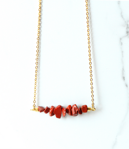 The Chipper in Red Jasper