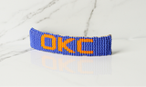 Large Hair Barrette Oklahoma City Thunder (Blue)