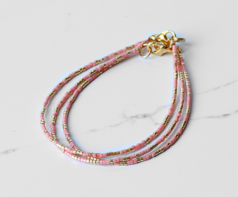 The Simply Elegant Bracelet-Peach