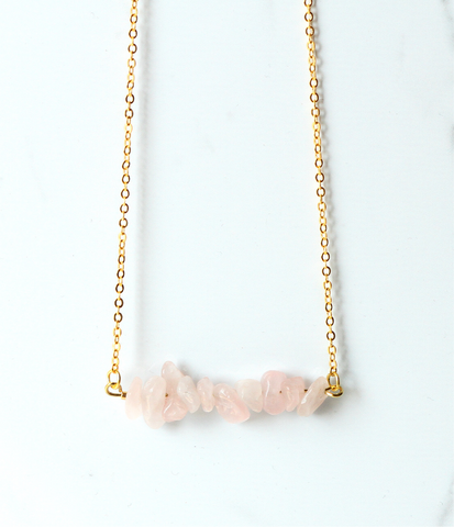 The Chipper in Rose Quartz