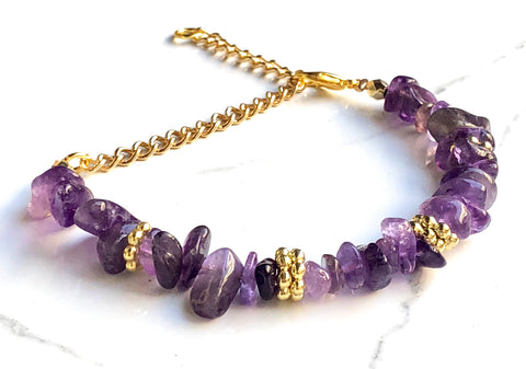 The Wrist Chipper in Amethyst