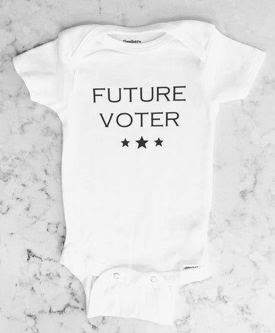 Future Voter Onesie