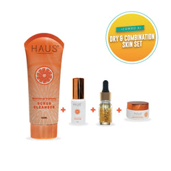 Combo A : Dry & Combination Skin Set