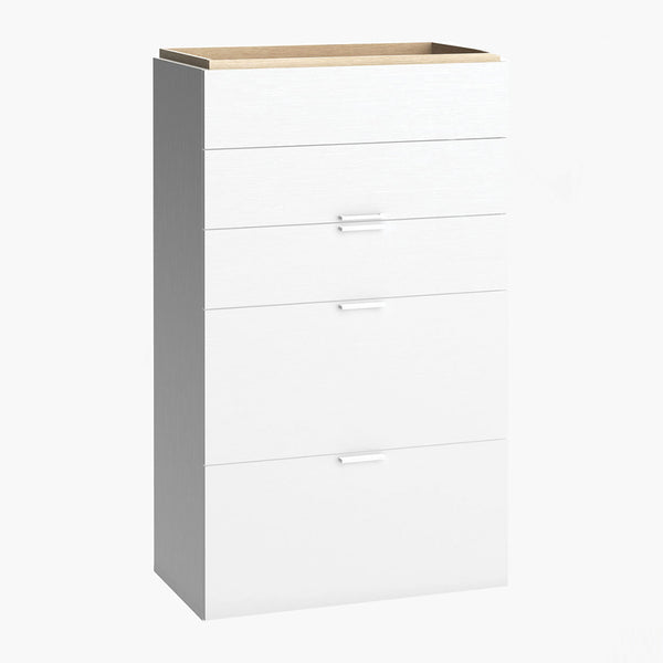 4You Chest Of Drawers - White - CLM Home
