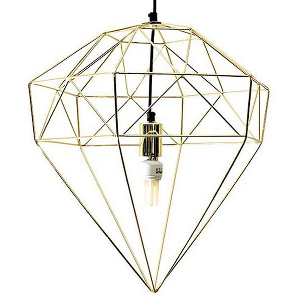 Wire Diamond Pendant - CLM Home