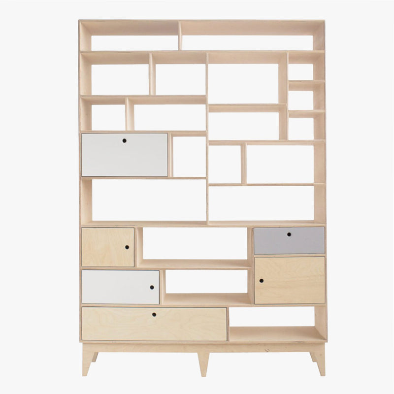 Leiff Large Bookshelf - CLM Home