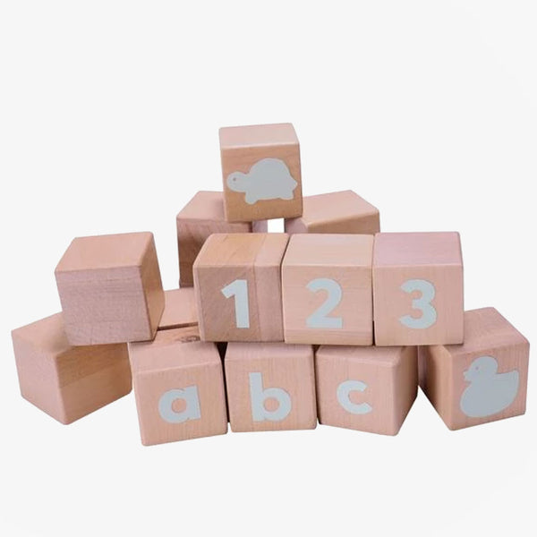 Alphabet Blocks - Spearmint - CLM Home