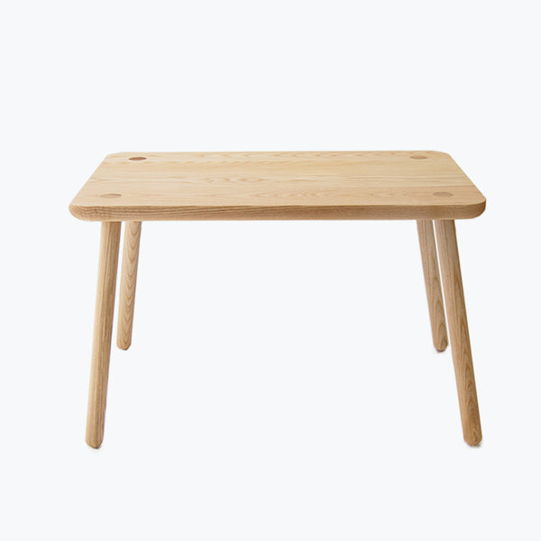 Solid Ash Rectangular table - CLM Home