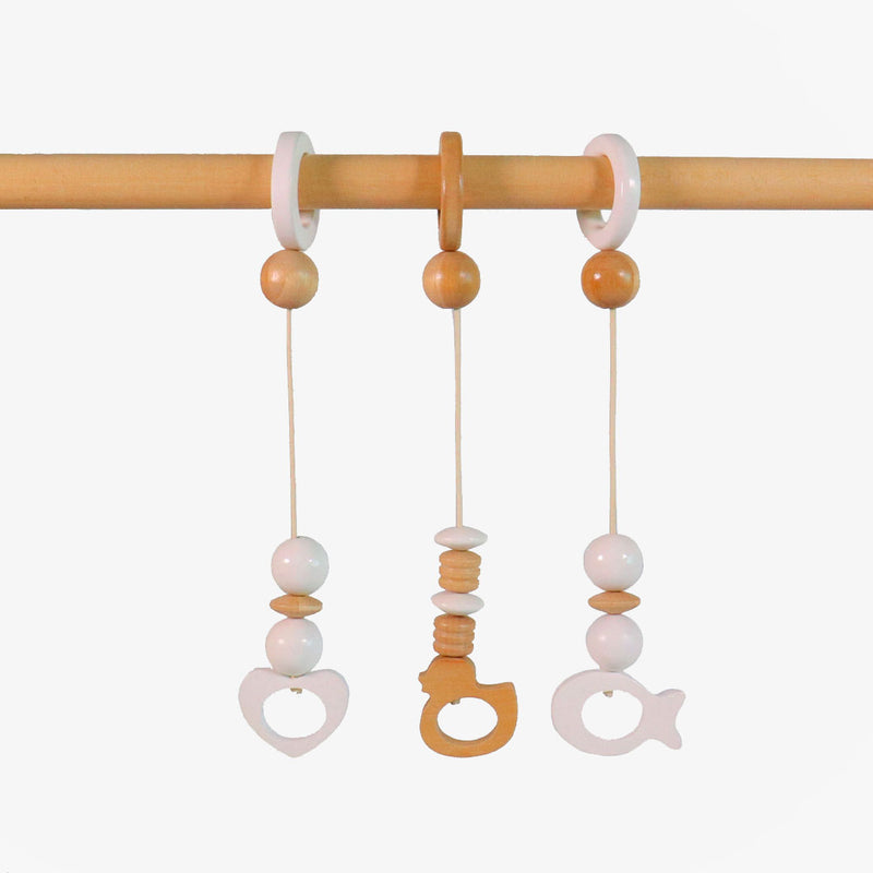 Baby Gym Incl Dangles - White - CLM Home