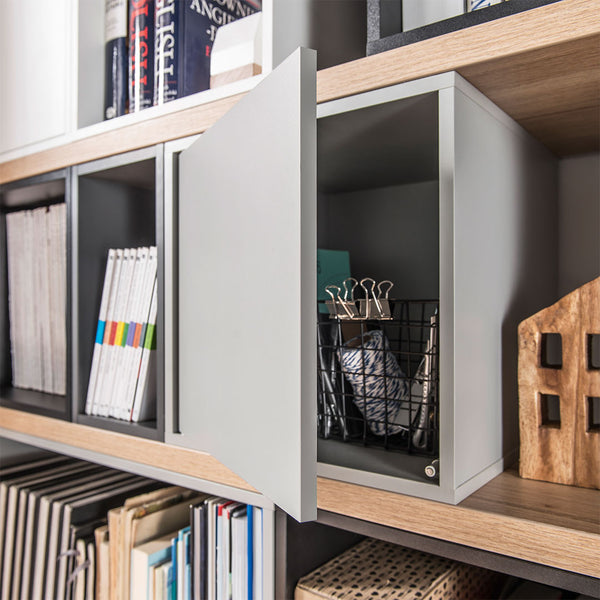 Balance Long Bookshelf - 138Cm - CLM Home
