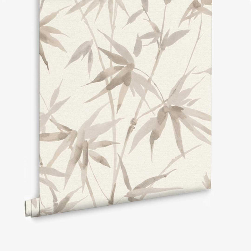 Bamboo Texture Wallpaper - Ivory - CLM Home