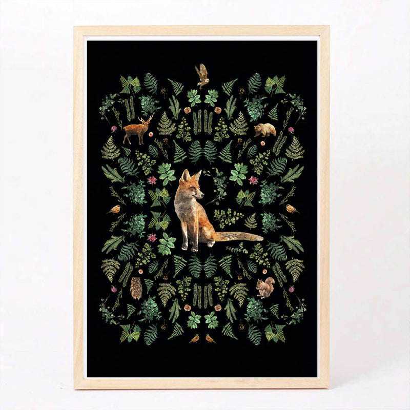 Into The Woods Art Print - CLM Home