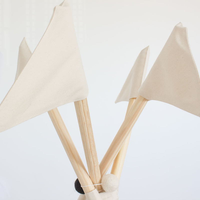 Flags Ivory Teepee - CLM Home
