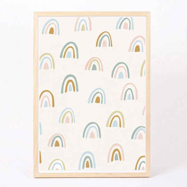 Rainbow Forest Art Print - CLM Home