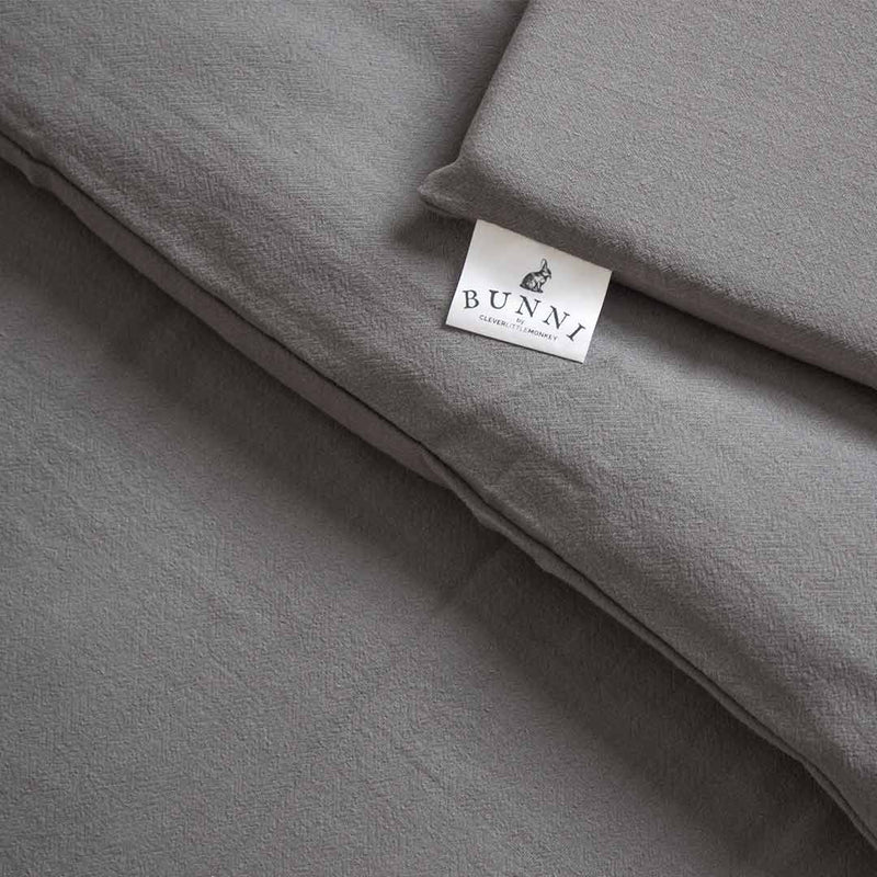 Signature Cot Set - Misty Grey - CLM Home