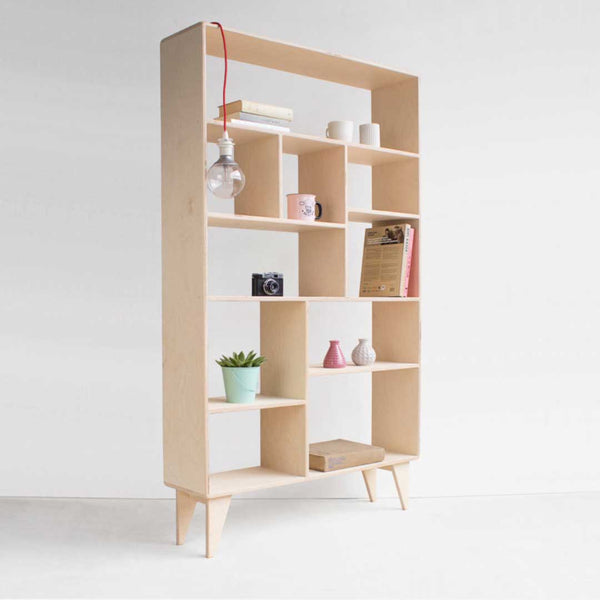 Leiff Open Bookcase - CLM Home
