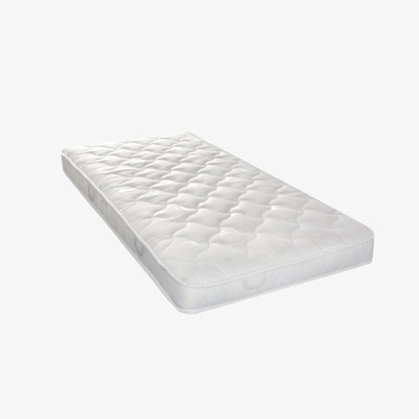 Cot Quilted Foam Mattress - 132 X 66 - CLM Home