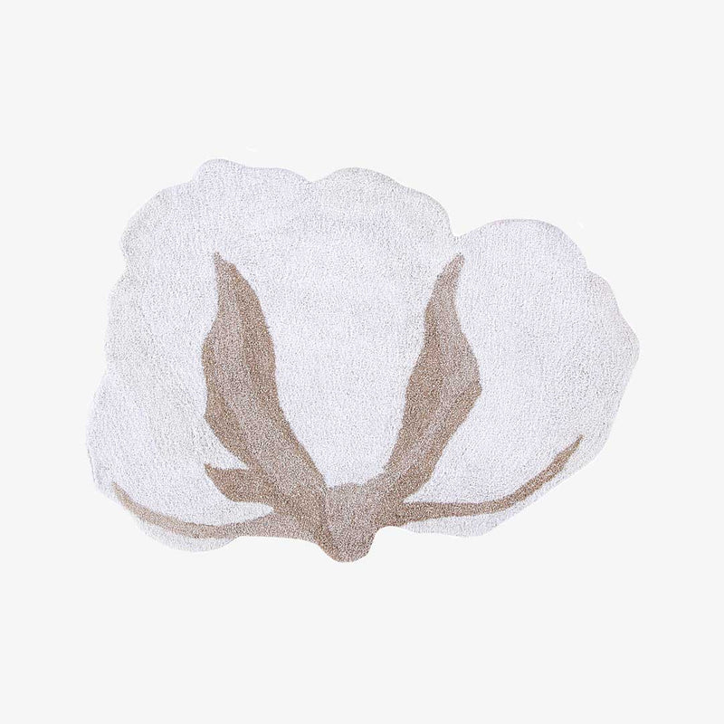 Cotton Flower Rug - CLM Home