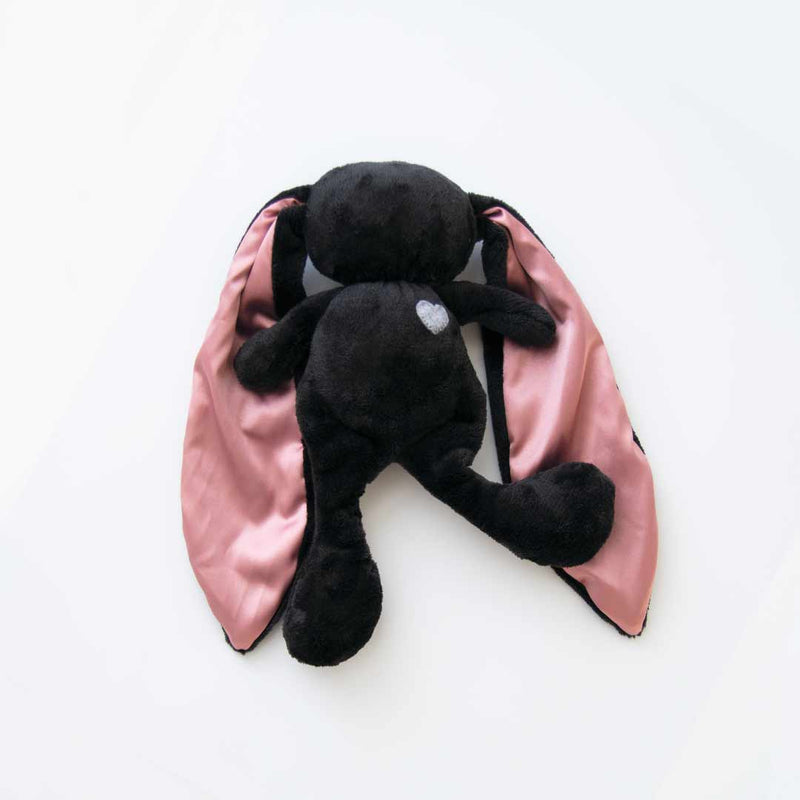 Cuddle Bunny - Black with Pink Ears - CLM Home