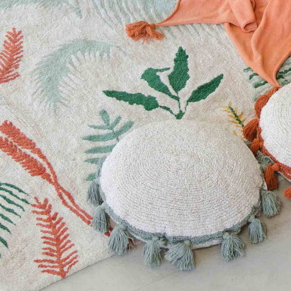 Scatter Circle Cushion - Green - CLM Home