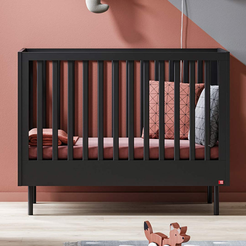 Cute Cot Bed - Black - CLM Home