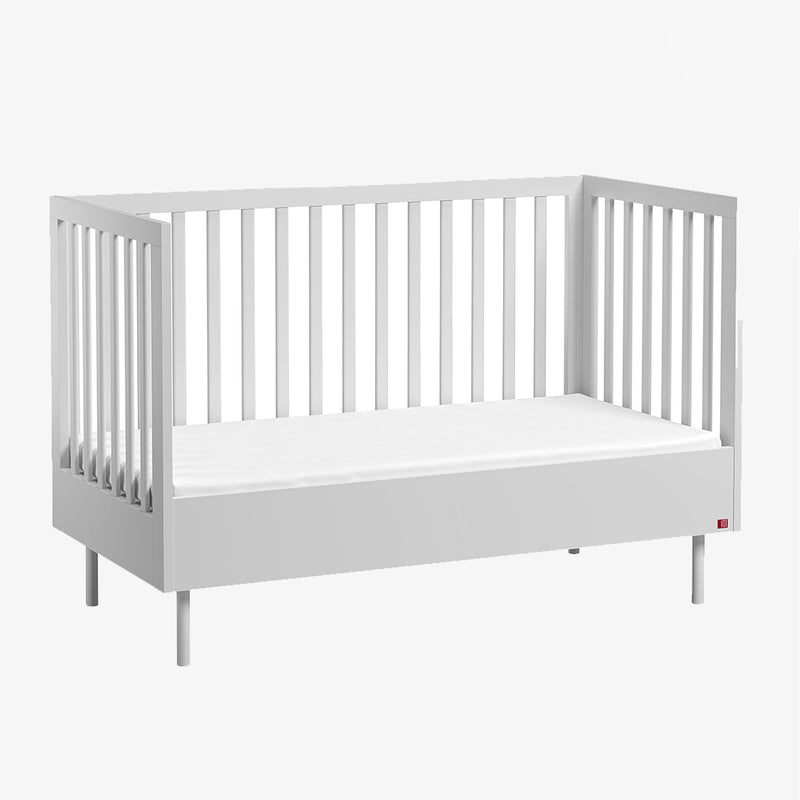 Cute Cot Bed - White - CLM Home