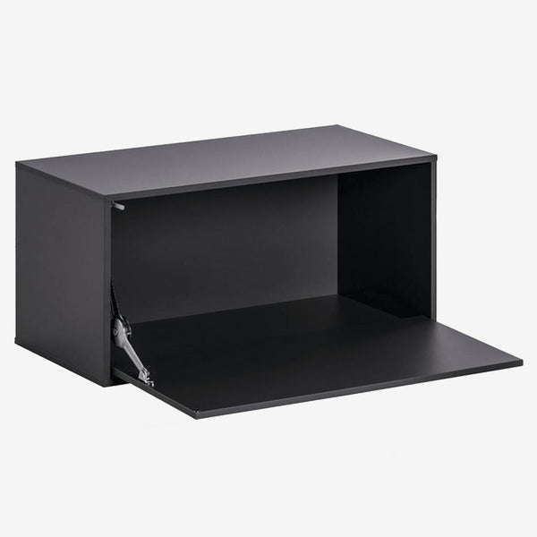 Balance Large Box With Door - Black - CLM Home