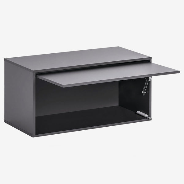 Balance Large Box With Door - Graphite - CLM Home