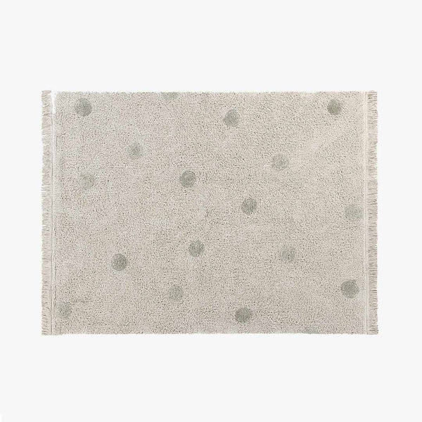 Hippy Dots Rug Olive - CLM Home