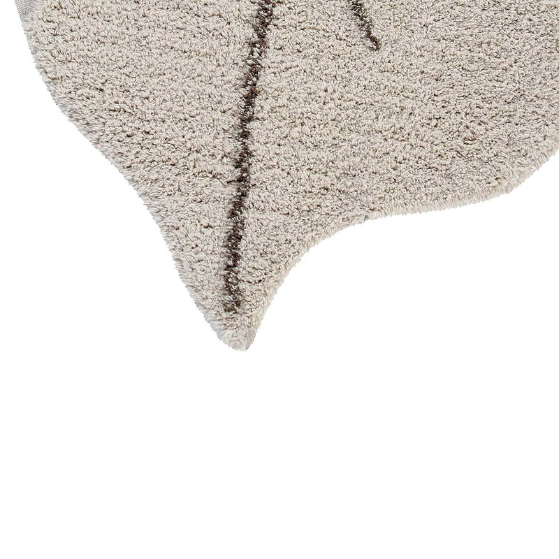 Monstera Leaf Rug Natural - CLM Home