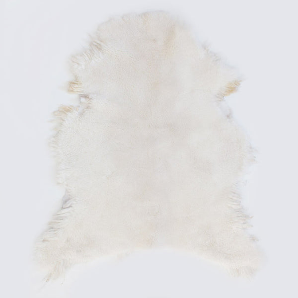 Natural Ivory Sheepskin - CLM Home