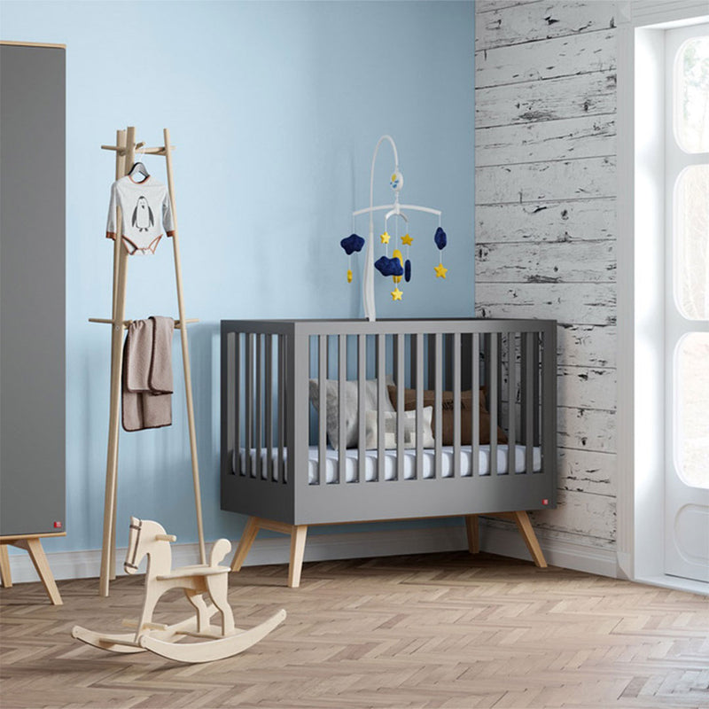 Mitra Cot Bed - Graphite - CLM Home