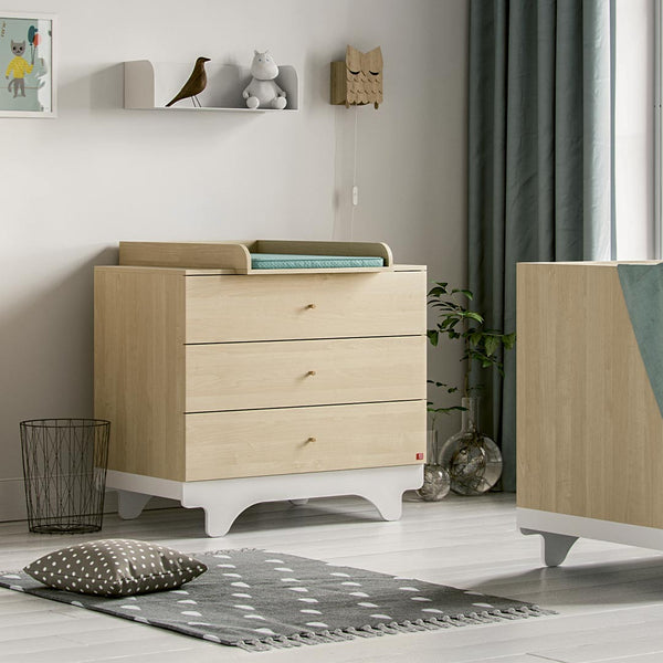 Playwood Dresser Birch/White - CLM Home